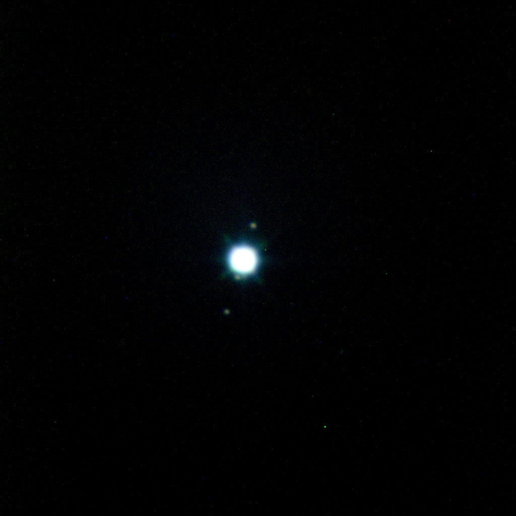 天体写真と観測報告「天王星と海王星」