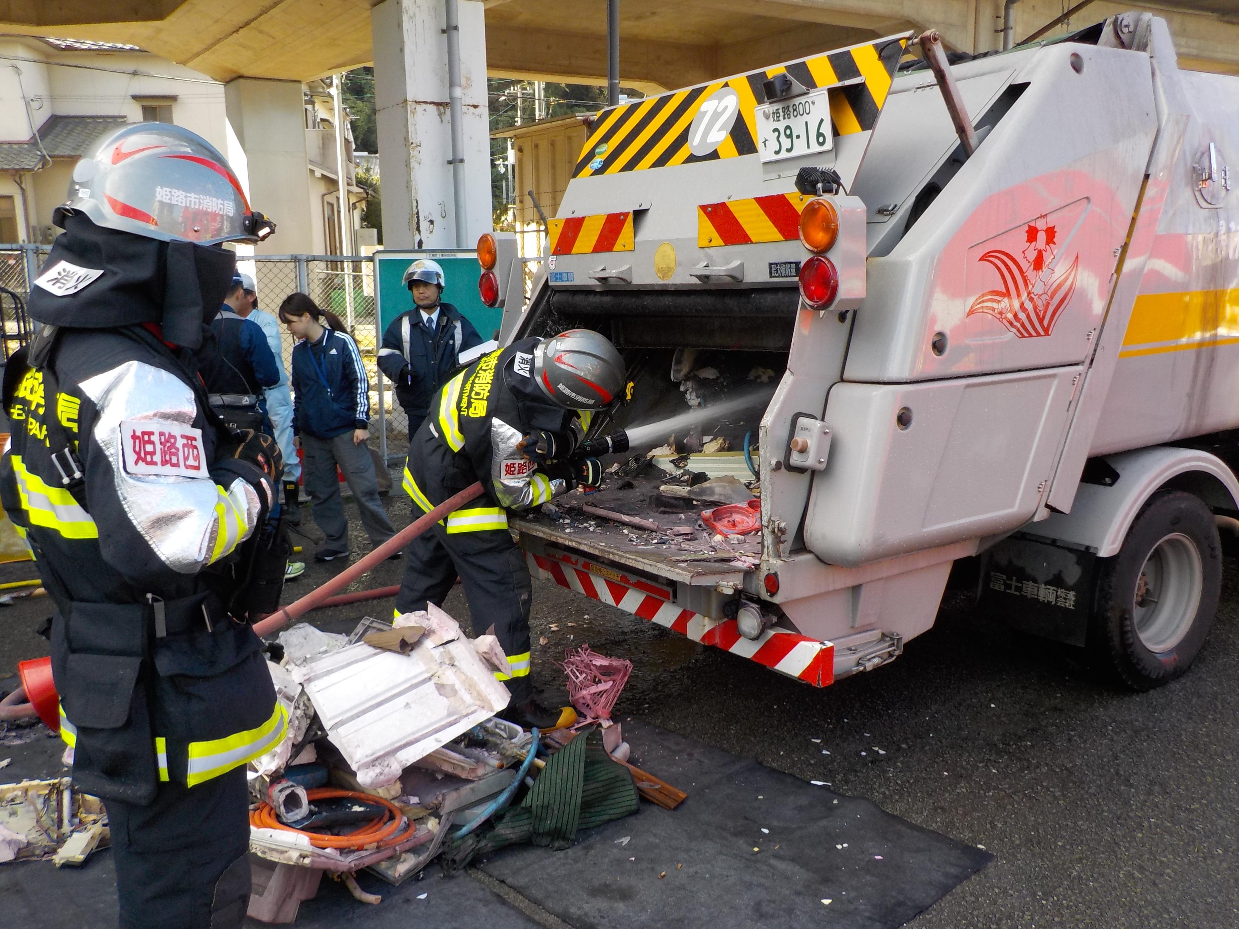 収集 仕組み ゴミ 車 『ゴミ収集車』の仕組み(図付)