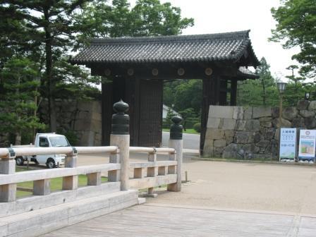姫路城大手門の写真
